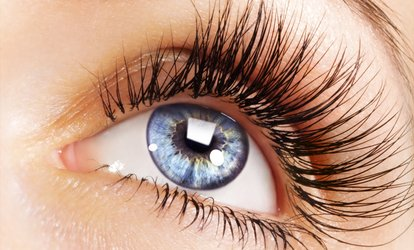 image for $56 for a Full Set of Glam Eyelash Extensions at Enso Nails & Spa ($200 Value)