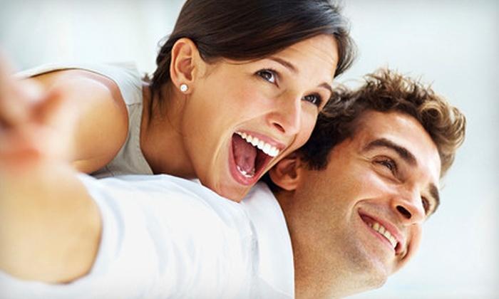 Vivid Smiles - Mcmillan: In-Office Teeth Whitening with Optional Whitening Pen at Vivid Smiles (54% Off)