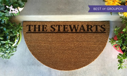 Personalized Door Entry Mat