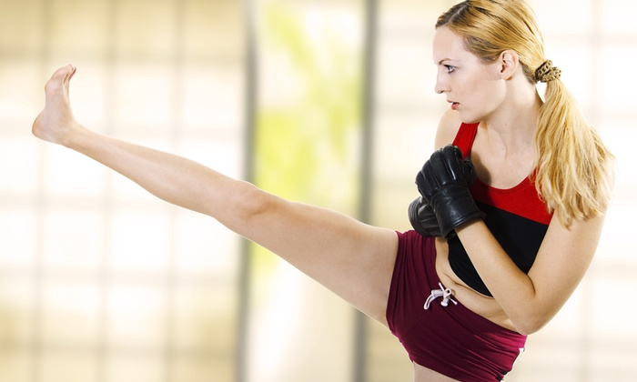 West Coast Martial Arts - Multiple Locations: 5 or 10 Women's and Coed Kickboxing Classes at West Coast Martial Arts (Up to 73% Off)