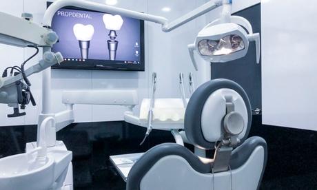 Limpieza bucal con radiografía y opción a 1 o 2 empastes desde 9,99 € en Clínica Propdental Madrid