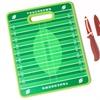 "Farberware 11x14"" Football-Field Cutting Board and Football Parer Set"
