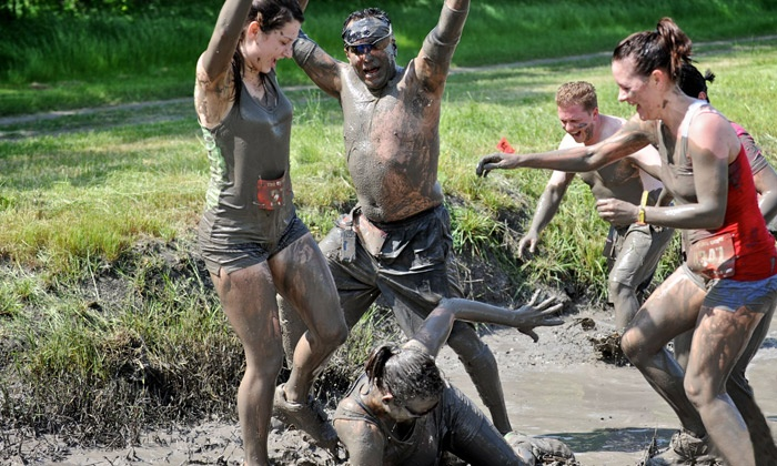 The Survival Race - Fishing Creek Farms: $30 for The Survival Race 5K Mud Run on Sunday, April 13 ($79 Value)