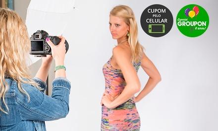 #NiverGroupon - Studio Batel: 1 hora de ensaio + maquiagem + 1 pôster (opção com 10 fotos em CD e 5 fotos impressas)