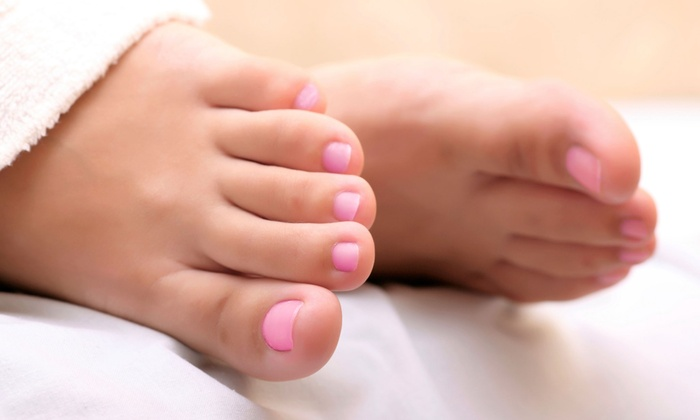 Diamond Nails - Hurstbourne Acres: Manicure, Pedicure, or Mani-Pedi at Diamond Nails (Half Off)
