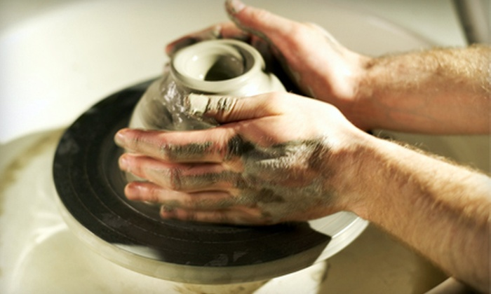 Creative Branch - Fountain Valley: Three or Six Introductory Pottery Classes at Creative Branch (Up to 51% Off)