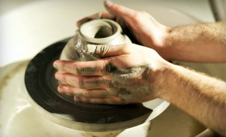 Choice of a 3-Week Series of Intro to Wheel-Throwing or 3-Week Series of Hand-Building Classes (a $60 value) - Creative Branch in Colorado Springs