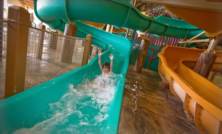 1-Night Stay for Up to Six or Seven with Water Park Passes and $25 Resort Credit at Great Wolf Lodge Kansas City