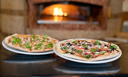 $30 Worth of Gourmet Pizza, Sides, and Drinks at Brixx Wood Fired Pizza. Two Options Available.