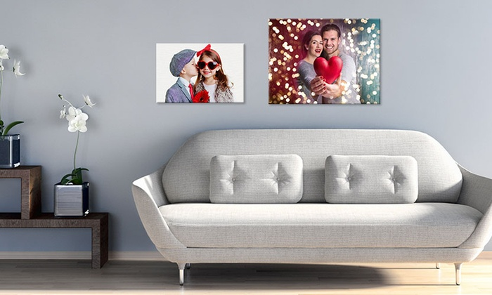"""Canvas On Sale: Customizable 12""""x8"""" or 16""""x12"""" Canvas Prints from CanvasOnSale"""