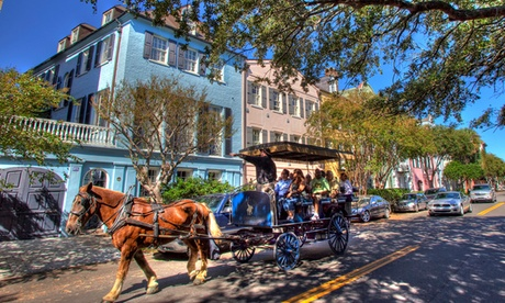 Carriage Tour for One, Two, or Four on a Group Carriage from Carolina Polo and Carriage Company (Up to 10% Off)