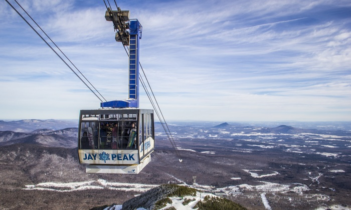 Jay Peak Resort - Jay Peak Resort: One or Four All-Day Lift Tickets at Jay Peak Resort (Up to 37% Off). Four Options Available.