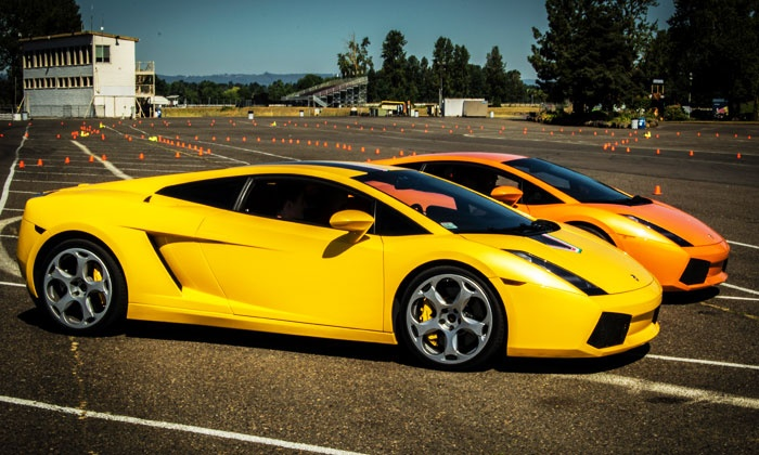 Experience Supercars - Mclellan Park Airport: Ferrari or Lamborghini Experience from Experience Supercars (Up to 82% Off). Five Options Available.