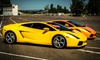 Experience Supercars - Freehold Raceway Mall: Ferrari or Lamborghini Experience from Experience Supercars (Up to 82% Off). Five Options Available.