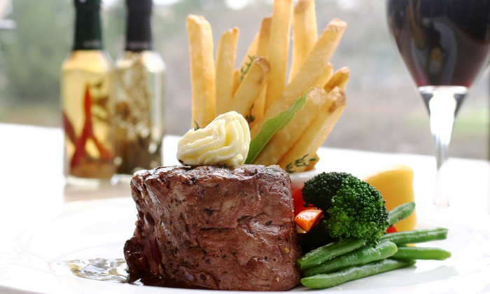 Le Voltaire French Restaurant - Le Voltaire Restaurant: $22 for $40 Worth of French Dinner Fare and Wine at Le Voltaire Restaurant