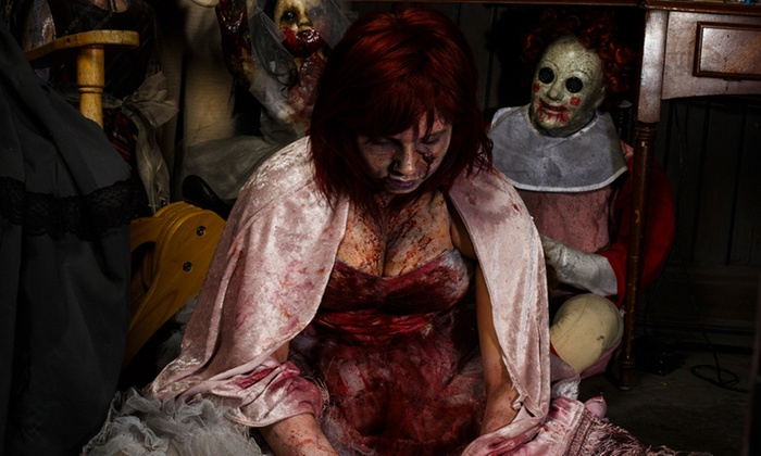 Massacre Haunted House - Montgomery: Valentine's Massacre for Two or Four at Massacre Haunted House on February 13 (Up to 36% Off)