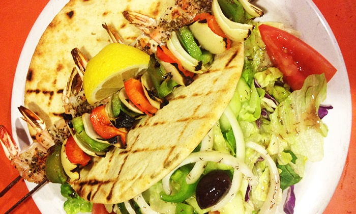 Poppi's Anatolia - Downtown: Indian and Mediterranean Cuisine at Poppi's Anatolia (Up to 50% Off). Four Options Available.