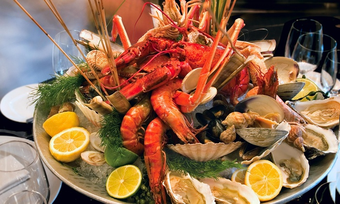 Live Bait - Live Bait: One Order of Crispy Calamari with Purchase of Two Orders of Oysters on the Half Shell at Live Bait