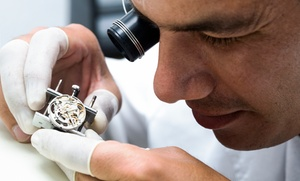 Clifton Jewelers: Watch-Battery Replacement or $20 for $40 Worth of Watch and Jewelry Repair at Clifton Jewelers