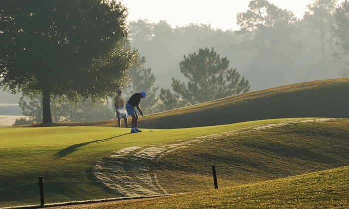 Black Bear Golf Club - Village At Black Bear: Golf Package for One or Four with Cart and Discount Beers at Black Bear Golf Club (Up to 71% Off)