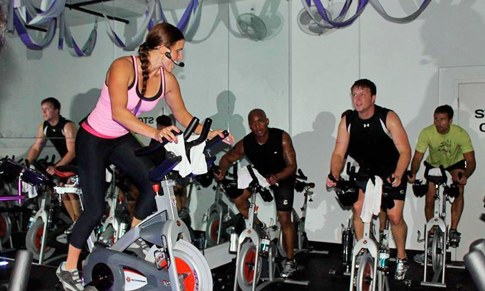 TidalWheel - Near West End: 5 or 10 Spin Classes at TidalWheel West End (Up to 63% Off)