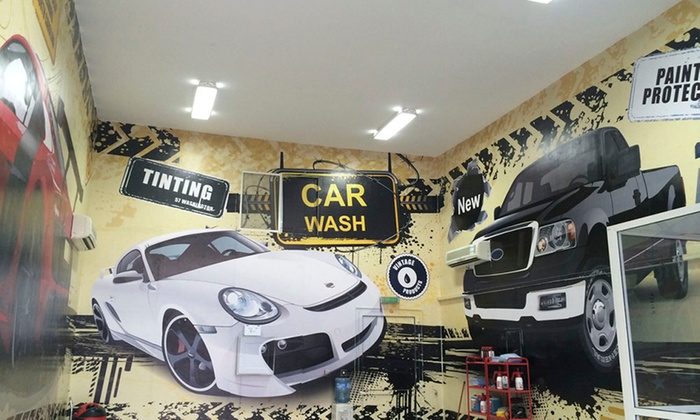art wash for car cleaning and polishing up to 83 off abu dhabi groupon. Black Bedroom Furniture Sets. Home Design Ideas