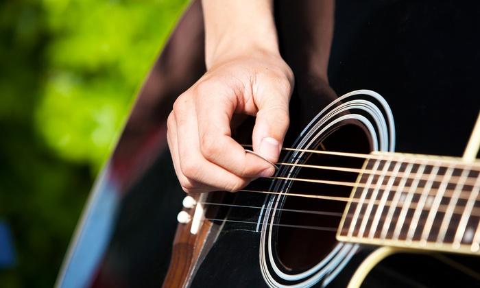 Aria Studios - Rock Creek: Adult or Children's Group Guitar Lessons atAria Studios (73%Off)