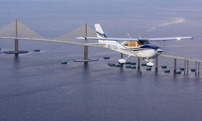 Atlas Aviation - Davis Islands: $199 for a One-Hour Scenic Airplane Tour for Two from Atlas Aviation ($299 Value)