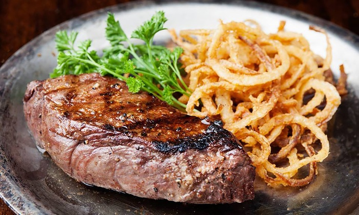 Wild Buffalo Steakhouse - North Charleston: Bison Burgers, Wings, Steaks, and More for Lunch or Dinner at Wild Buffalo Steakhouse (50% Off)