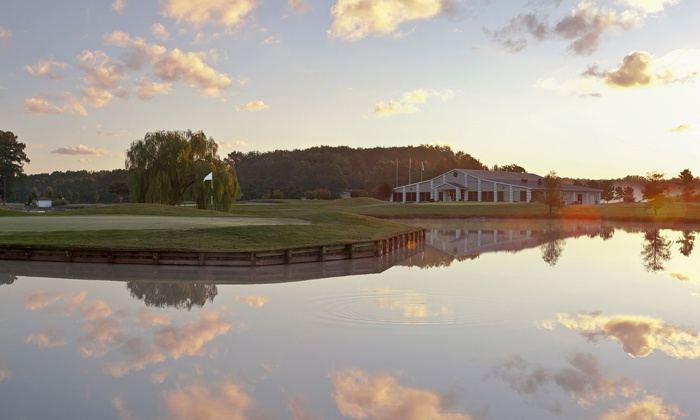The Bay Club - Berlin, MD: 18 Holes of Golf for Two or Four with Cart Rental and Range Balls at The Bay Club (Up to 51% Off)