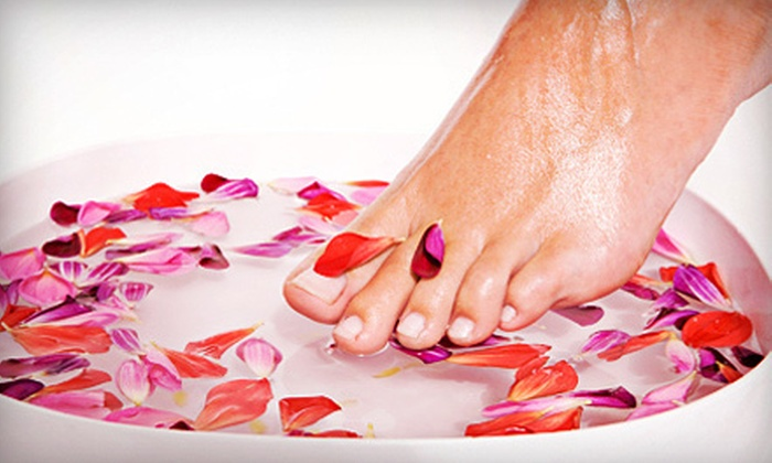 Terme Nuvo - Clarkson: Spa Mani-Pedi or a Spa Day Retreat for One or Two at Terme Nuvo (Up to 83% Off)