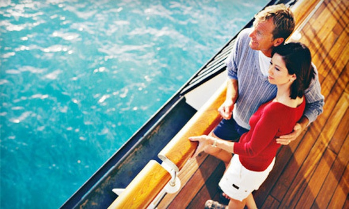 Gulfside Adventures - Clearwater: $159 for a Three-Hour Semiprivate Cruise for Two with Three-Course Dinner at Island Way Grill from Gulfside Adventures ($318 Value)
