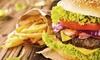 Burger z frytkami dla 2-4 osób