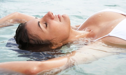 One, 2, or 3 90-Minute Float-Tank Therapy Sessions at Healing Waters Mind & Body Float Studio (Up to 58% Off)