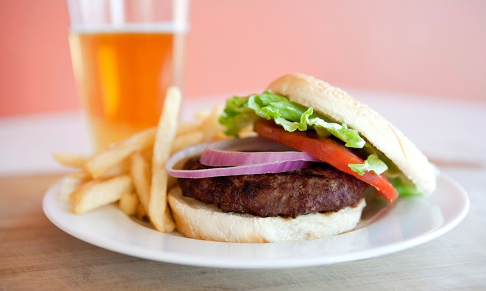 Chef Mikes Charcoal Grill - Park 100: Burgers and Beer for Two, Four, or Six at Chef Mikes Charcoal Grill (49% Off)