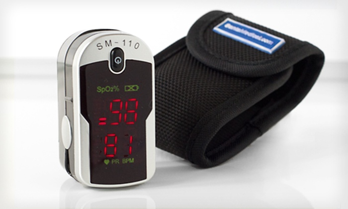 Fingertip Pulse Rate and Oxygen Monitor: $29 for a Santa Medical Finger Pulse Oximeter with a Carrying Case ($199 List Price). Free Shipping and Free Returns.