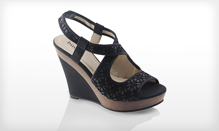 a34b637f5be  34.99 for Bucco Wedge Sandals