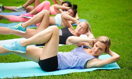 C$59 for a Month of Unlimited Women-Only Boot-Camp Sessions at B-Fit Bootcamp (C$130 Value)