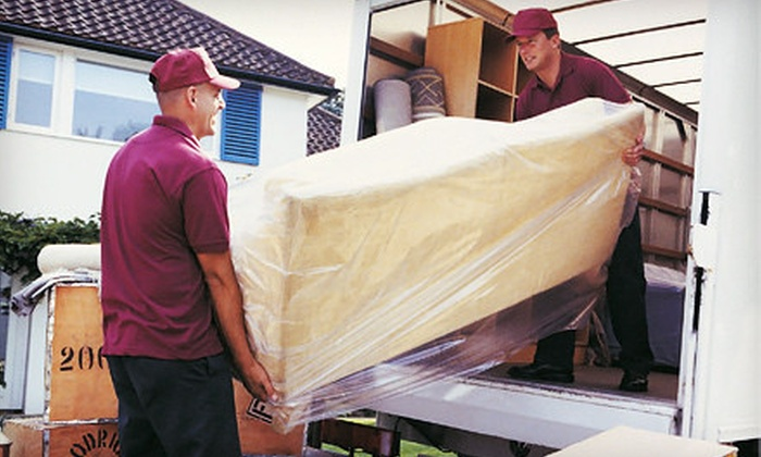 Expert Movers DFW - Dallas: Two or Three Hours of Moving Services with Two Movers and Supplies from Expert Movers DFW (Up to 55% Off)