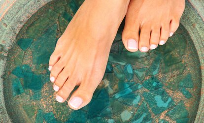 image for Luxury or Medical Pedicure at Natural Beauty (Up to 37% Off)