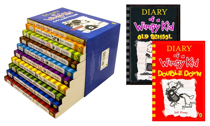 Diary of a wimpy kid books groupon goods h r international diary of a wimpy kid books from aed 39 43 off solutioingenieria Images