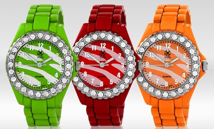 Golden Classic Women's Watches. Multiple Colors Available.