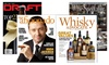 1-Year Beverage or Cigar Magazine Subscription: 1-Year Subscription to Cigar Aficionado, DRAFT, Whisky Advocate, or Wine Spectator