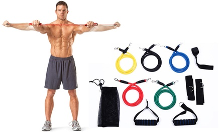 $19.95 for One or $36 for Two 11Piece Resistance Band Sets