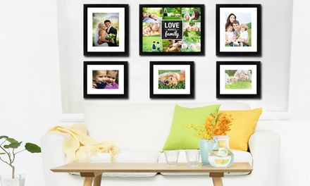 Framed, High-Gloss, Wooden Wall-Mount Prints from iCreate On Demand (Up to 83% Off). Four Options Available.