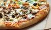 Menu vegano o con pizza d'asporto