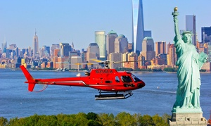 Liberty Helicopter Tours: Big Apple or New York, New York Tour with USB Drive from Liberty Helicopter Tours (Up to $30 Off)