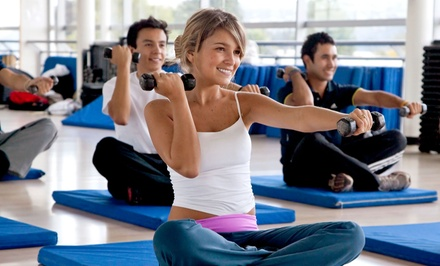 One or Two Months of Unlimited Fitness Classes at Real Results Fitness and Health (Up to 54% Off)