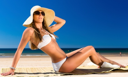 Four Weeks of Unlimited Tanning at High Tides Tanning Hair Salon & Spa (70% Off)