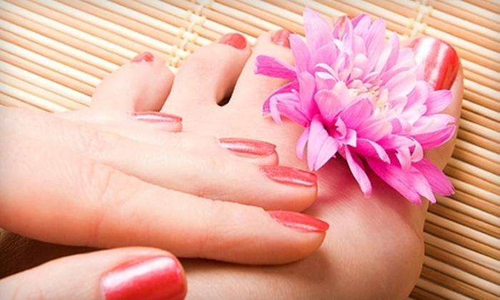 The Nail Spa at Green Hills - Green Hills: VIP Manicure and Pedicure or Full Set of Acrylic Enhancements at The Nail Spa at Green Hills (Up to 52% Off)